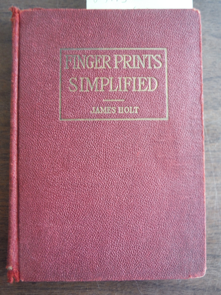 Image 0 of Finger Prints Simplified [fingerprints]