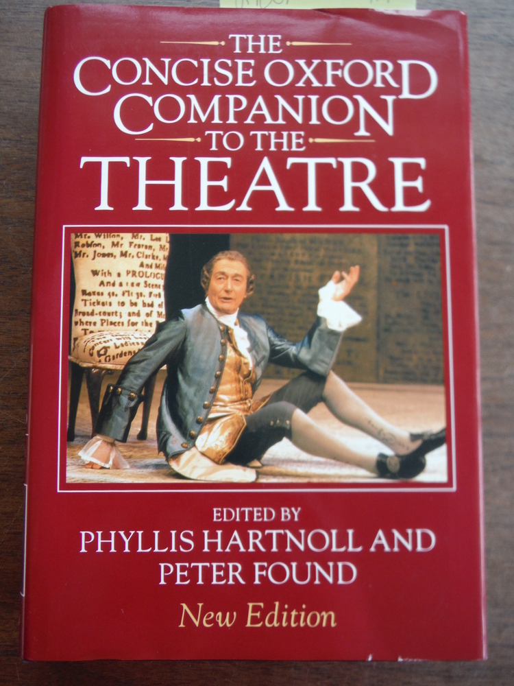 Image 0 of The Concise Oxford Companion to the Theatre