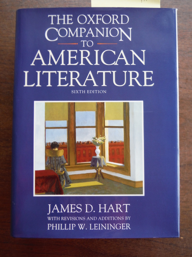 Image 0 of The Oxford Companion to American Literature (Oxford Companions)