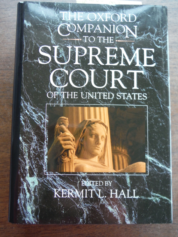 Image 0 of The Oxford Companion to the Supreme Court of the United States