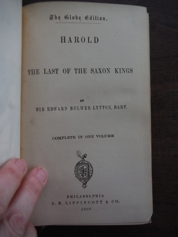 Image 1 of Harold, the Last of the Saxon Kings
