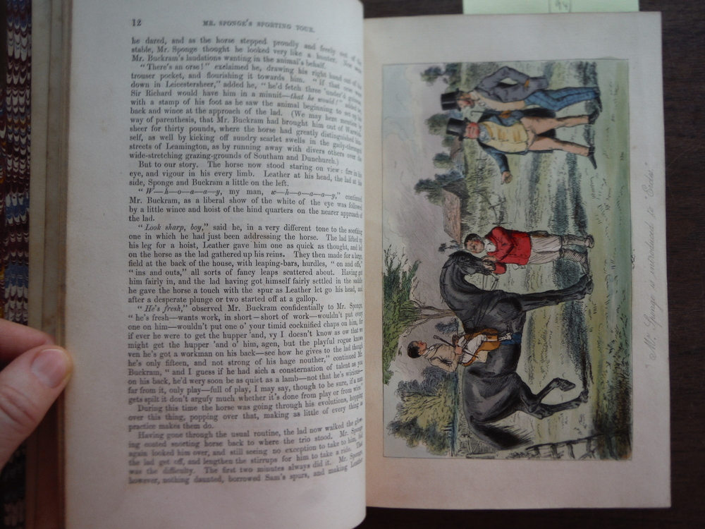 Image 3 of Mr. Sponge's Sporting Tour (First Edition)
