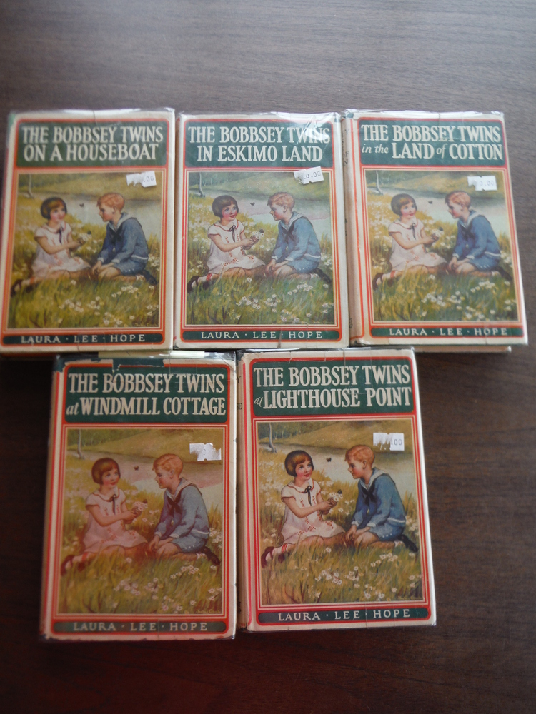 The Bobbsey Twins  (Set of five)
