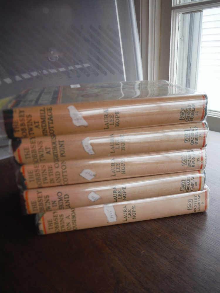 Image 1 of The Bobbsey Twins  (Set of five)