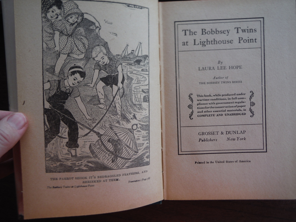 Image 2 of The Bobbsey Twins  (Set of five)