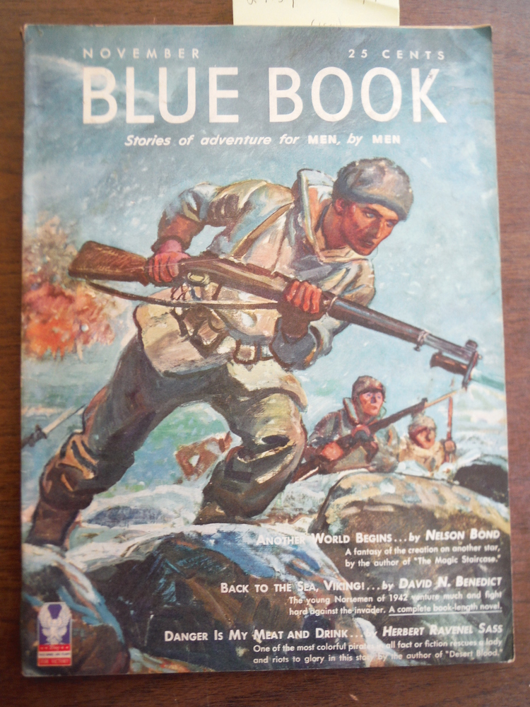 Image 0 of BLUE BOOK [BLUEBOOK] MAGAZINE NOVEMBER 1942 VOL. 76, NO. 1