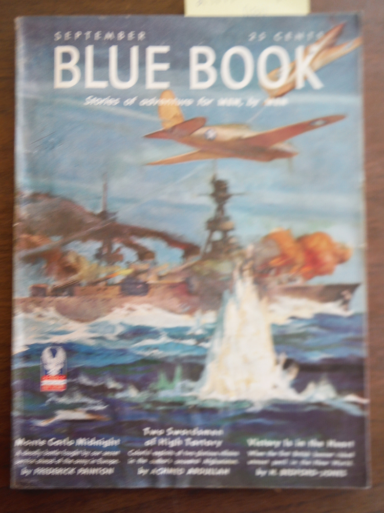 Image 0 of Blue Book Stories of adventure for MEN, by MEN (Vol 75, No. 5) September, 1942