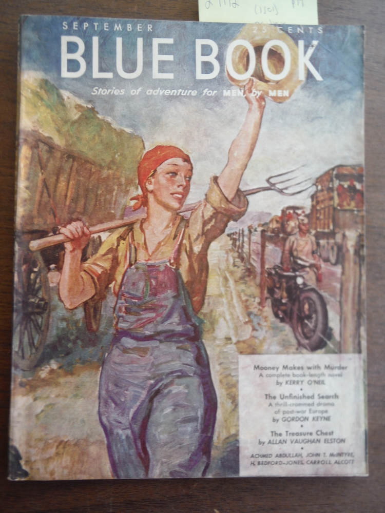 Blue Book Magazine (Vol.  77, No. 5) September 1943