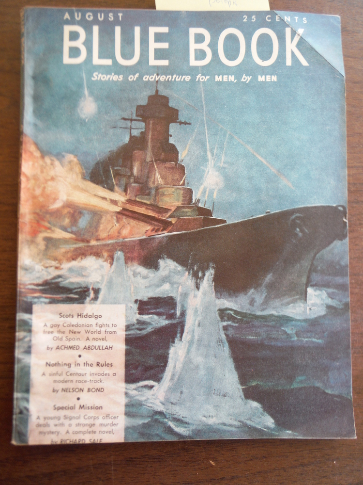 Blue Book Magazine (Vol.  77, No. 4) August 1943