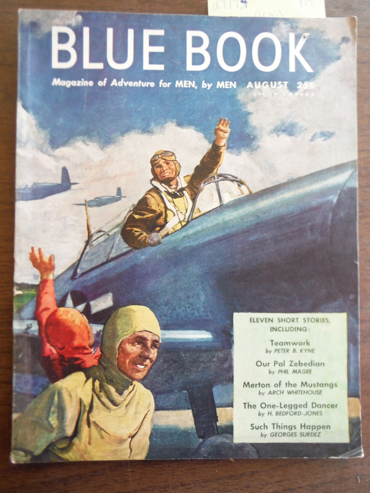 Image 0 of Blue Book Magazine (Vol.  81, No. 4) August 1945