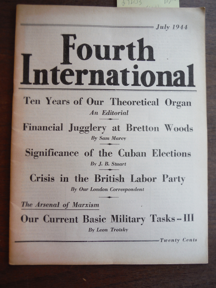 Image 0 of Fourth International Magazine Vol. V, No. 7 July 1944