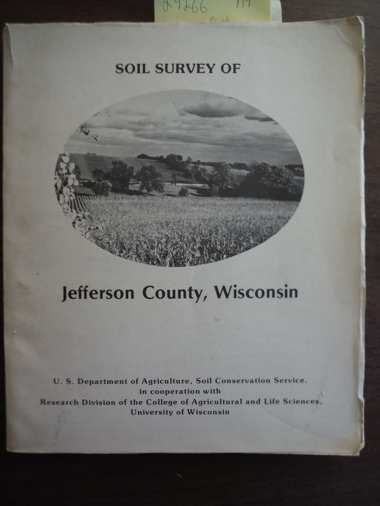 Image 0 of Soil Survey of Jefferson County, Wisconsin