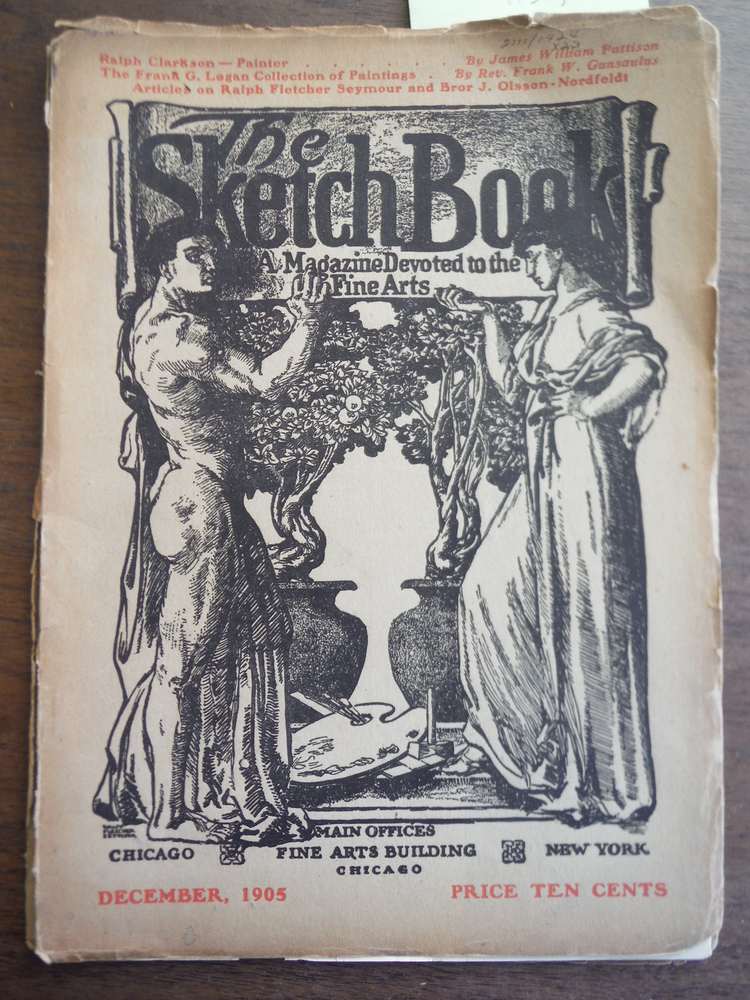 Image 0 of The Sketch Book A Magazine Devoted to the Fine Arts Vol. V No. 4 December, 1905