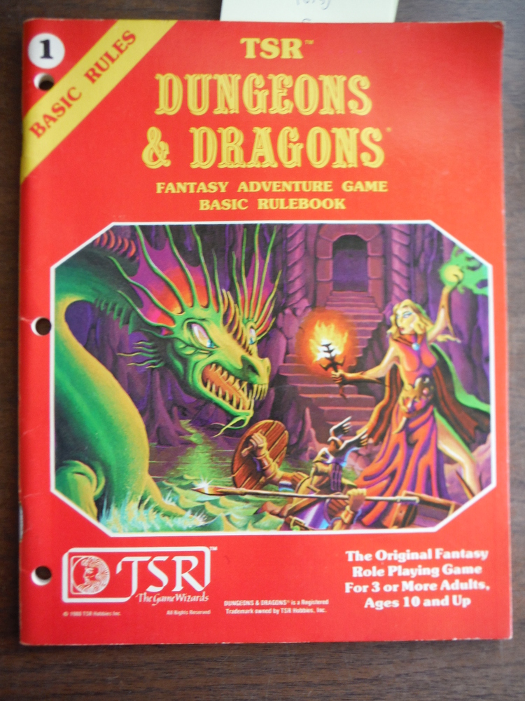 TSR Dungeons & Dragons Fantasy Adventure Game: Basic Rulebook #1