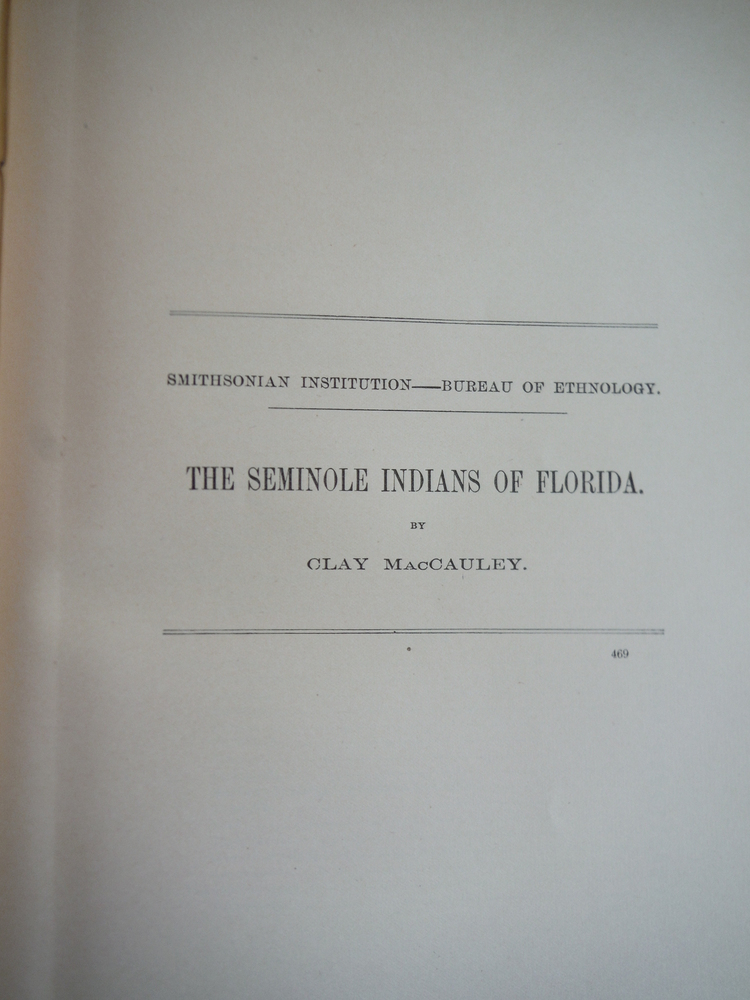 Image 0 of The Seminole Indians of Florida