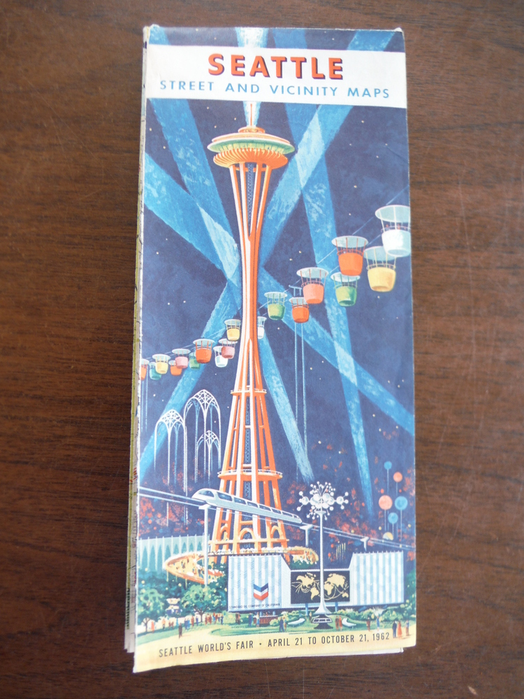 Image 0 of Seattle Street and Vicinity Maps Seattle World's Fair - April 21 to October 21,