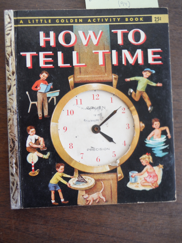 Image 0 of How to Tell Time (a Little Golden Activity Book)