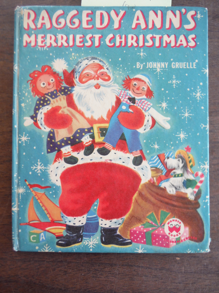 Image 0 of Raggedy Ann's Merriest Christmas (Wonder books)