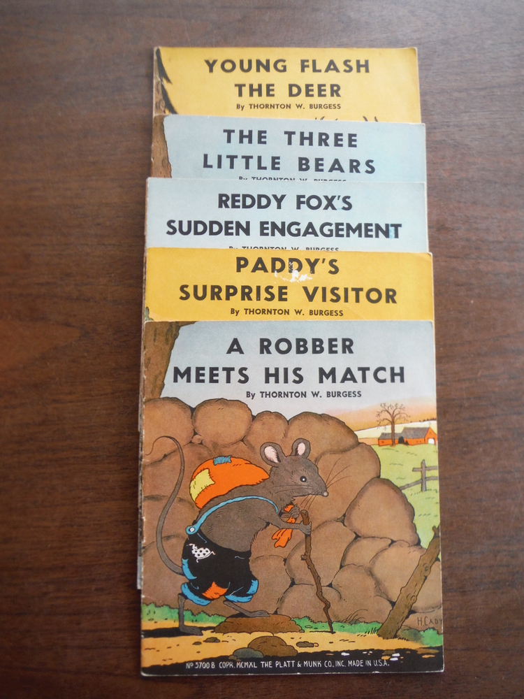 Image 1 of A Robber Meets His Match; Paddy's Surprise Visitor; Reddy Fox's Sudden Engagemen