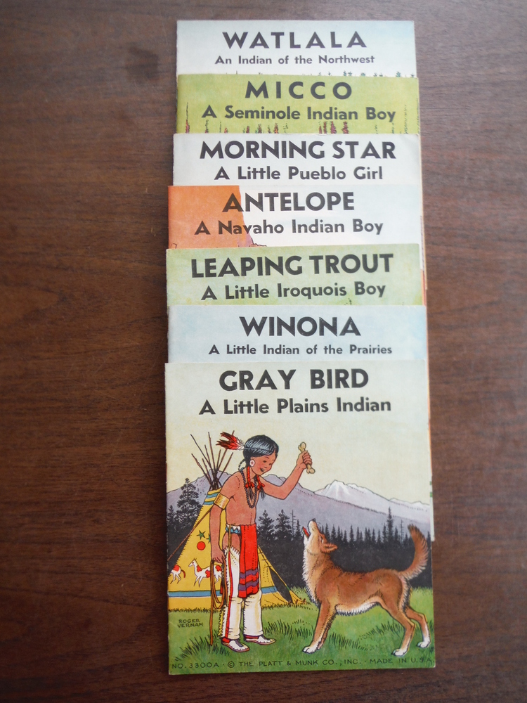 Image 1 of Gray Bird A Little Plains Indian; Winona A Little Indian of the Prairies; Leapin