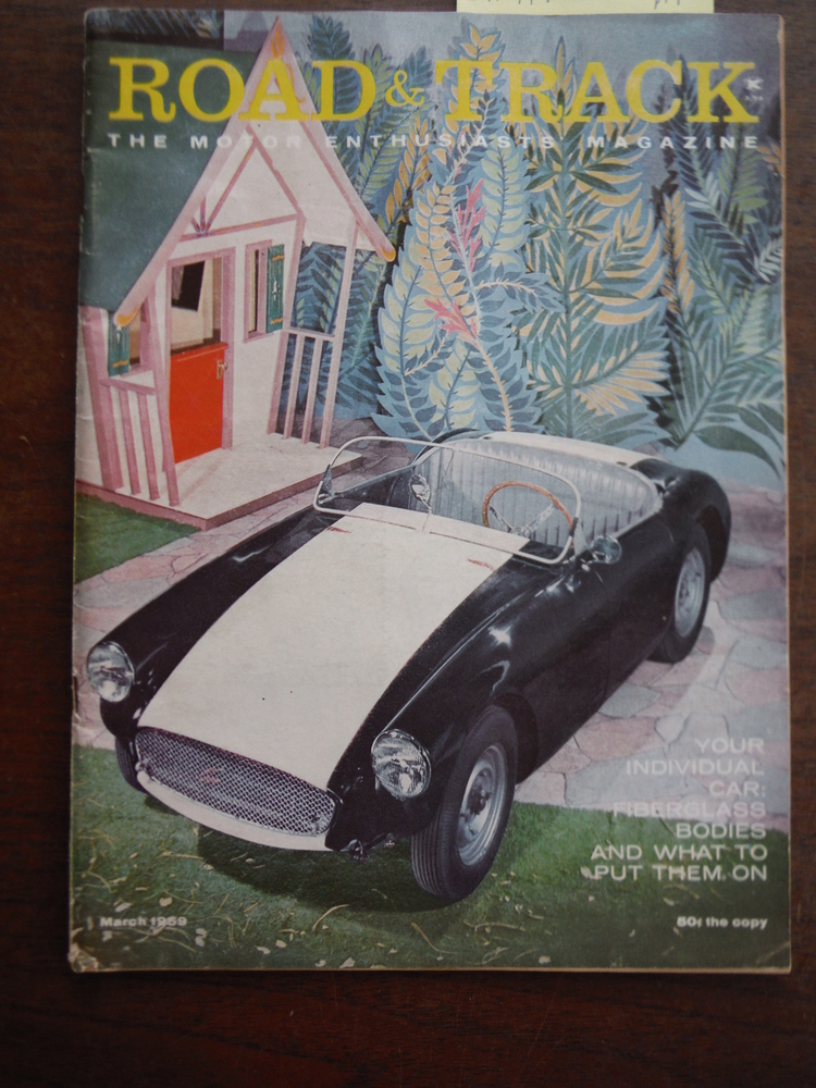 Image 0 of Road & Track The Moto Enthusiasts' Magazine Volume 10 No. 7 (March 1959)