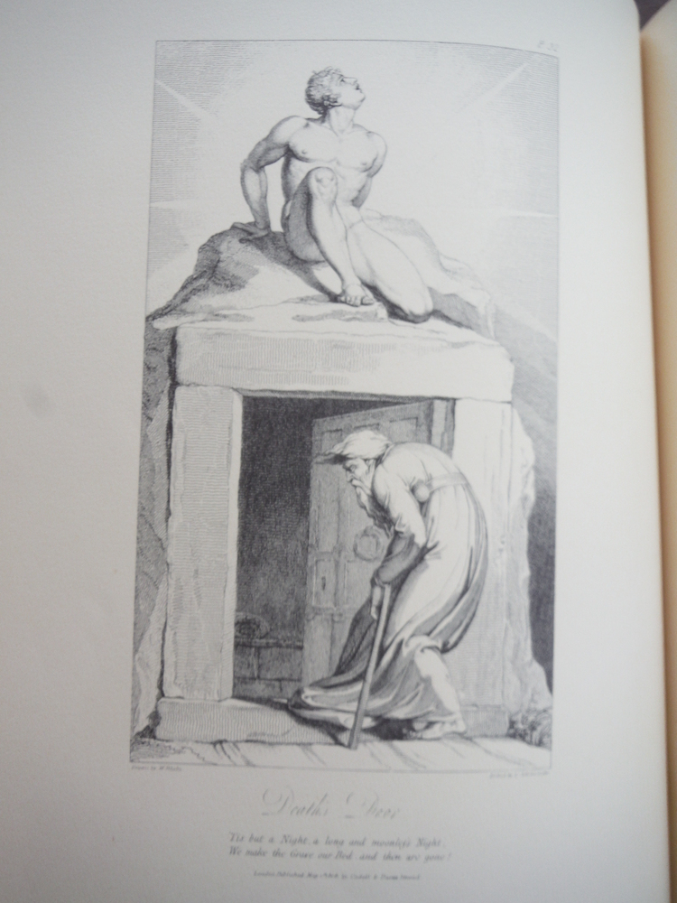 Image 1 of William Blake's Illustrations to the Grave (Double Elephant Folio Edition)