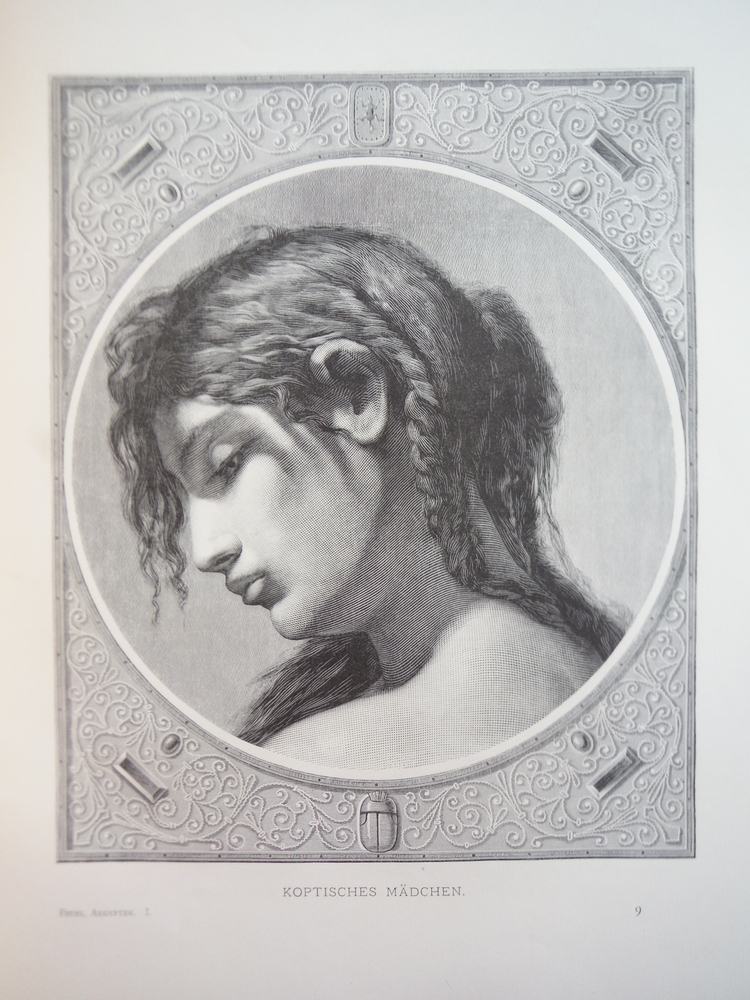 Image 0 of Koptisches Madchen - Steel Engraving (1878)