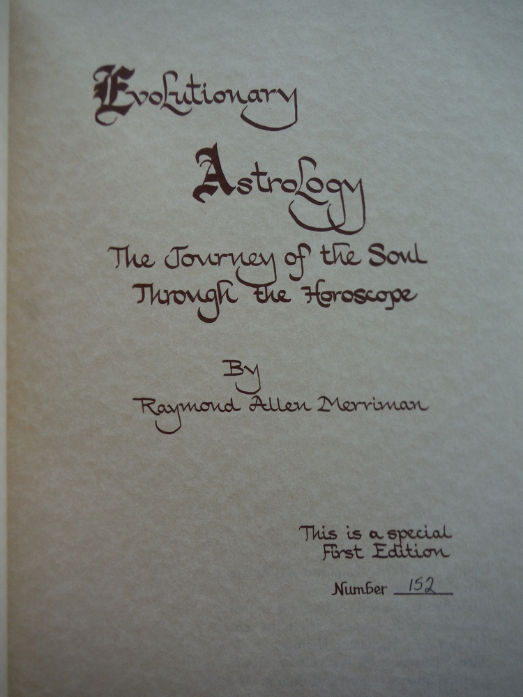 Image 1 of Evolutionary Astrology
