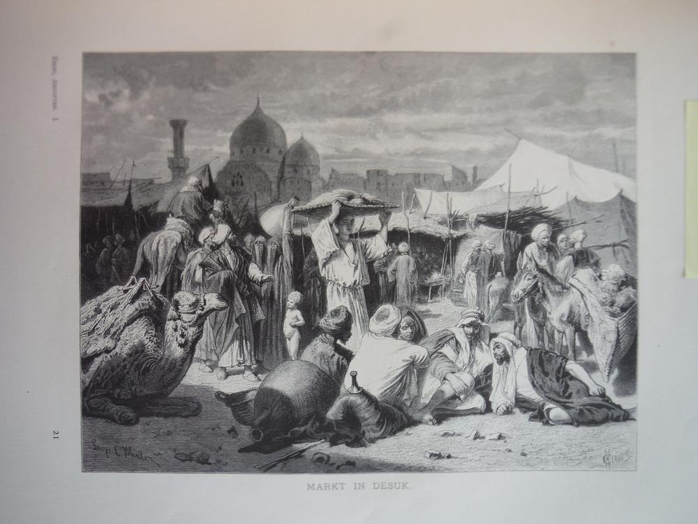 Image 0 of Markat in Desuk - Steel Engraving (1879)