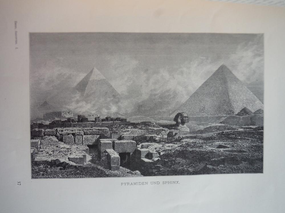 Image 0 of Pyramiden und Sphinx by Bernard Fiedler