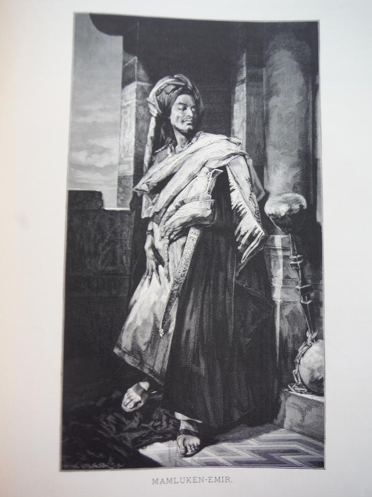 Image 0 of Mamluken-Emir by Hans Makart - Steel Engraving (1879)