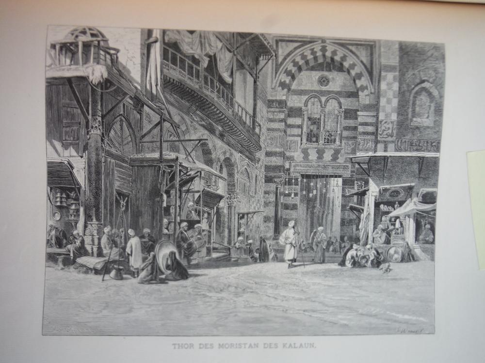Image 0 of Thor des Moristan des Kalaun by Carl Werner - Steel Engraving (1879)