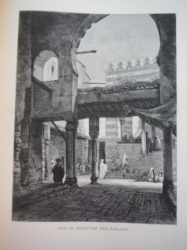 Image 0 of Hof im Moristan des Kalaun by Adolf Gnauth