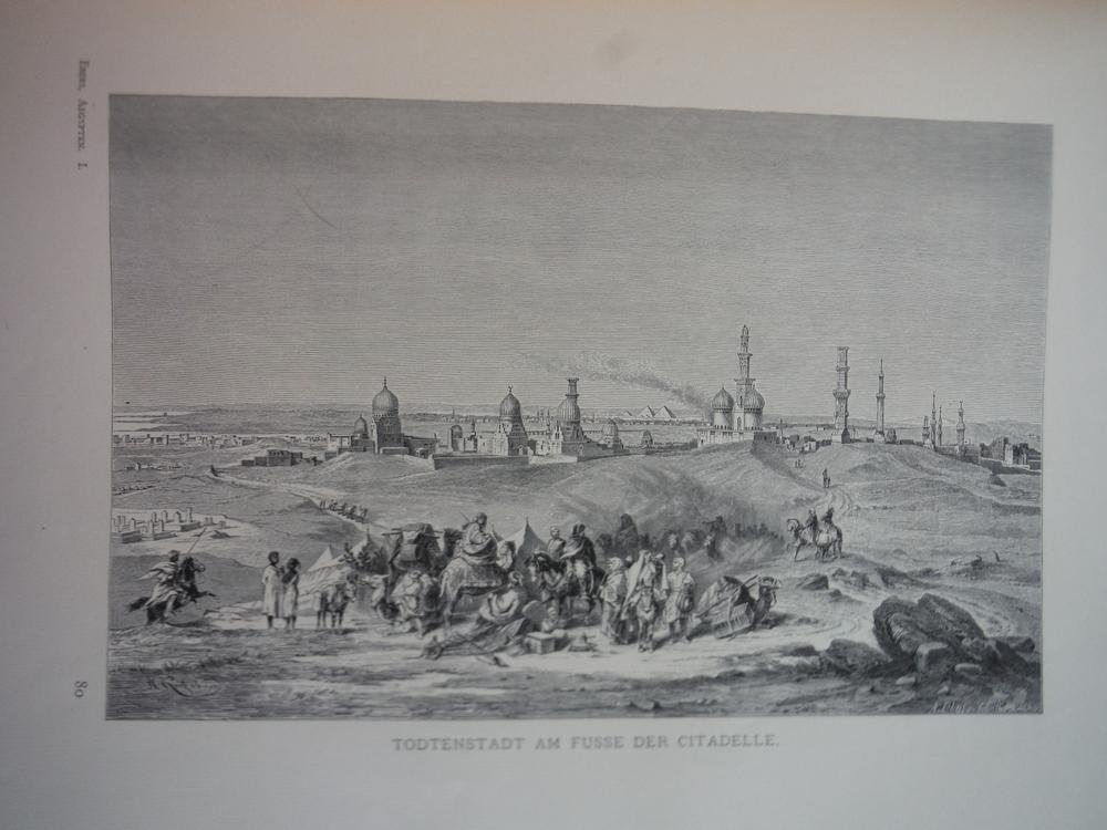 Image 0 of Todtenstadt am Fusse der Citadelle by Johann Hermann Kretzschmer - Steel Engravi