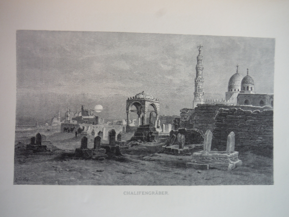 Chalifengraber by Frank Dillon - Steel Engraving (1879)