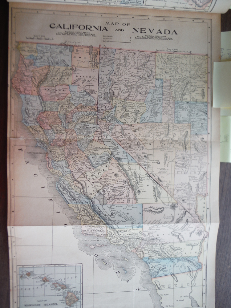 Image 0 of Maps  of  California and Nevada and  of Alaska and Part of British America and T