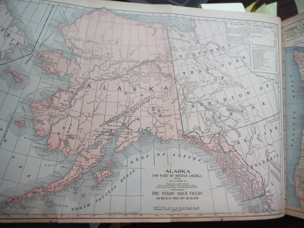 Image 1 of Maps  of  California and Nevada and  of Alaska and Part of British America and T