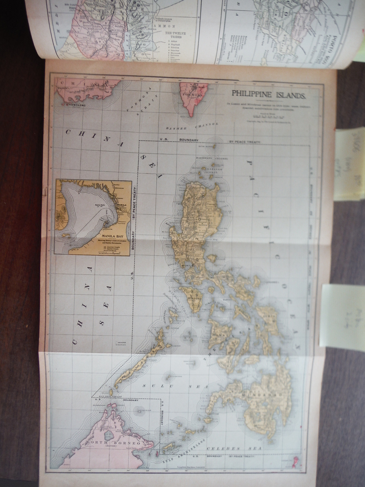 Maps  of  Philippine Islands and of the South Pacific (1901)