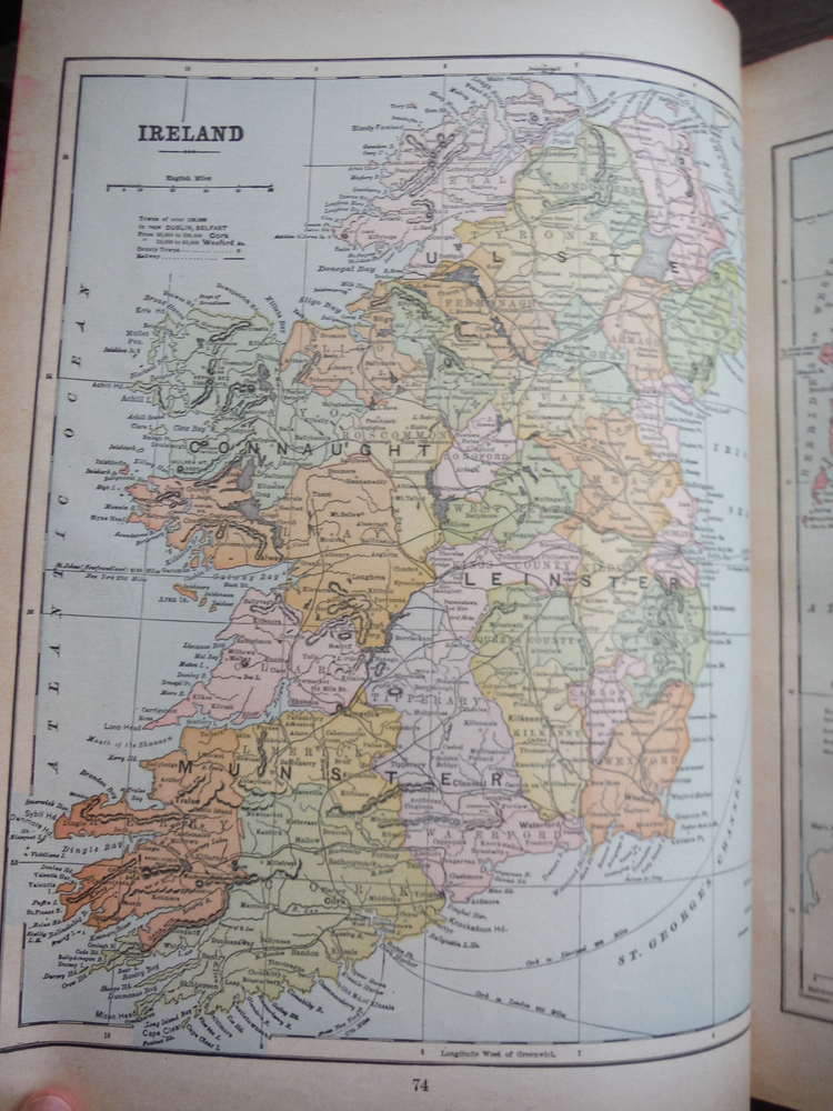 Image 1 of Maps of England & Wales and of Ireland (1901)