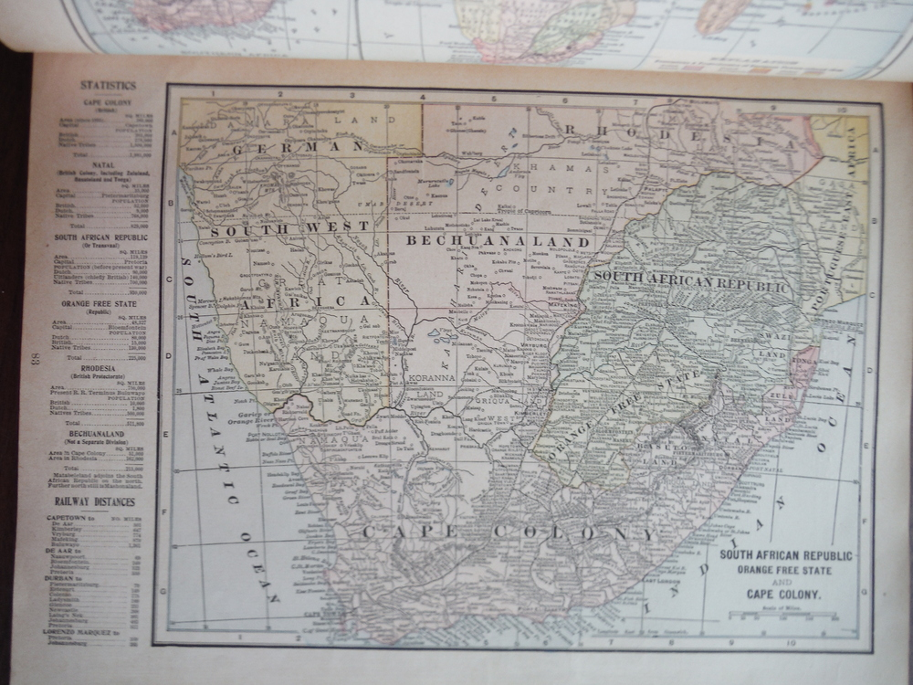Image 0 of Maps of Australia and of South African Republic, Orange Free State and Cape Colo