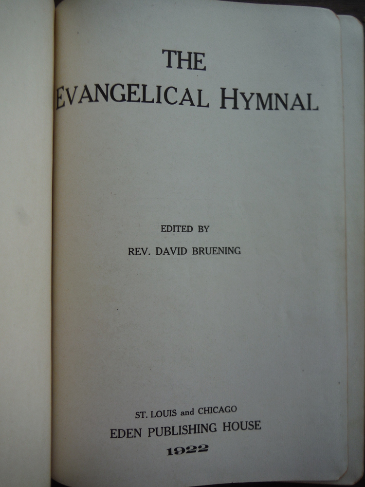 Image 1 of The Evangelical Hymnal
