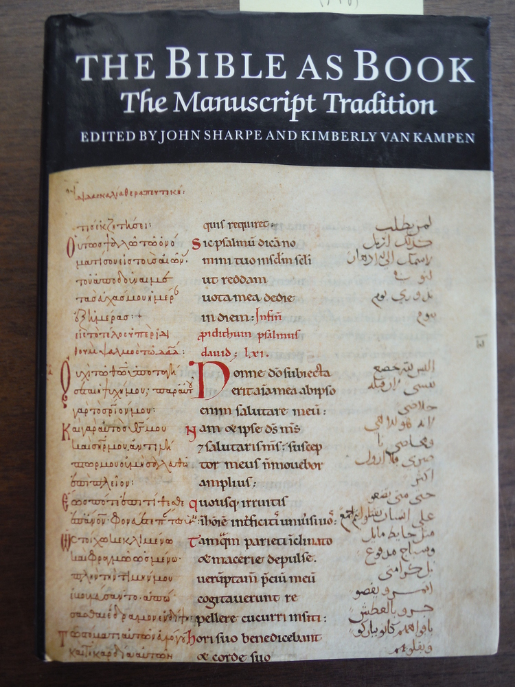The Bible As Book: The Manuscript Tradition