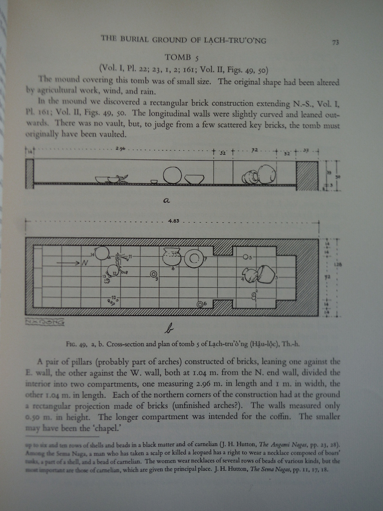 Image 2 of ARCHAEOLOGICAL RESEARCH IN INDO-CHINA: Volume II: The District of Chiu-Chen Duri