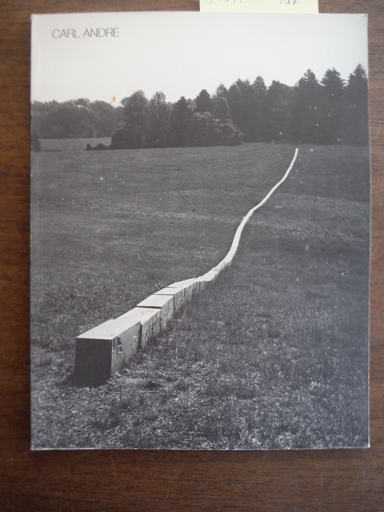 Image 0 of Carl Andre: Sculpture 1959-1977