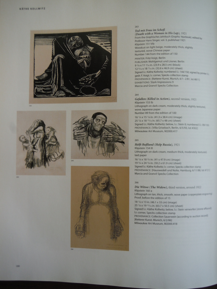 Image 1 of German Expressionist Prints: The Marcia and Granvil Specks Collection at the Mil