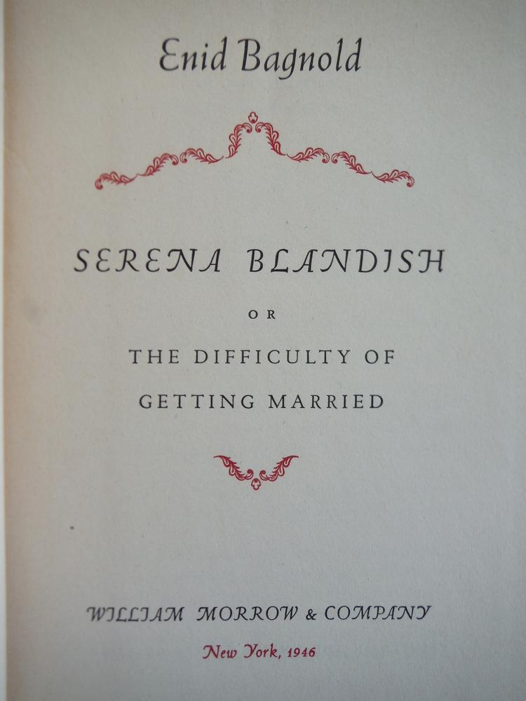 Image 1 of Serena Blandish
