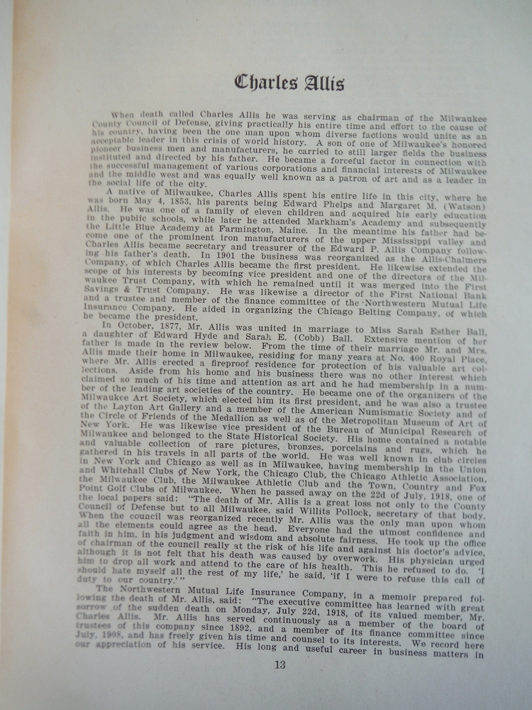 Image 3 of History of Milwaukee Deluxe Supplement