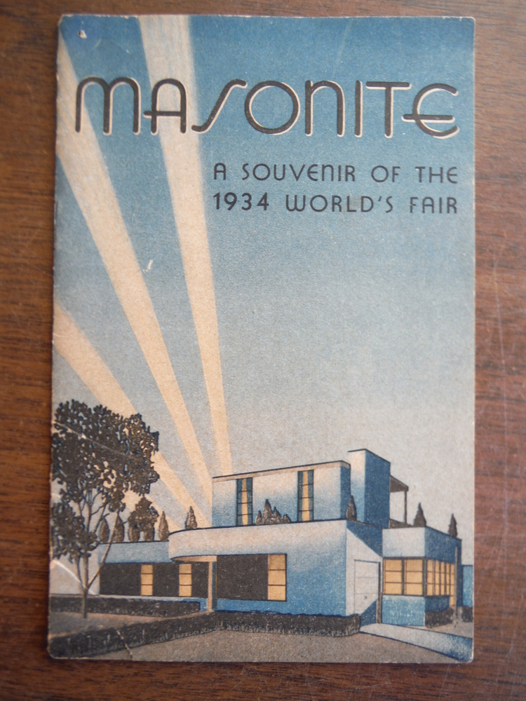 Masonite A Souvenir of the 1934 World's Fair