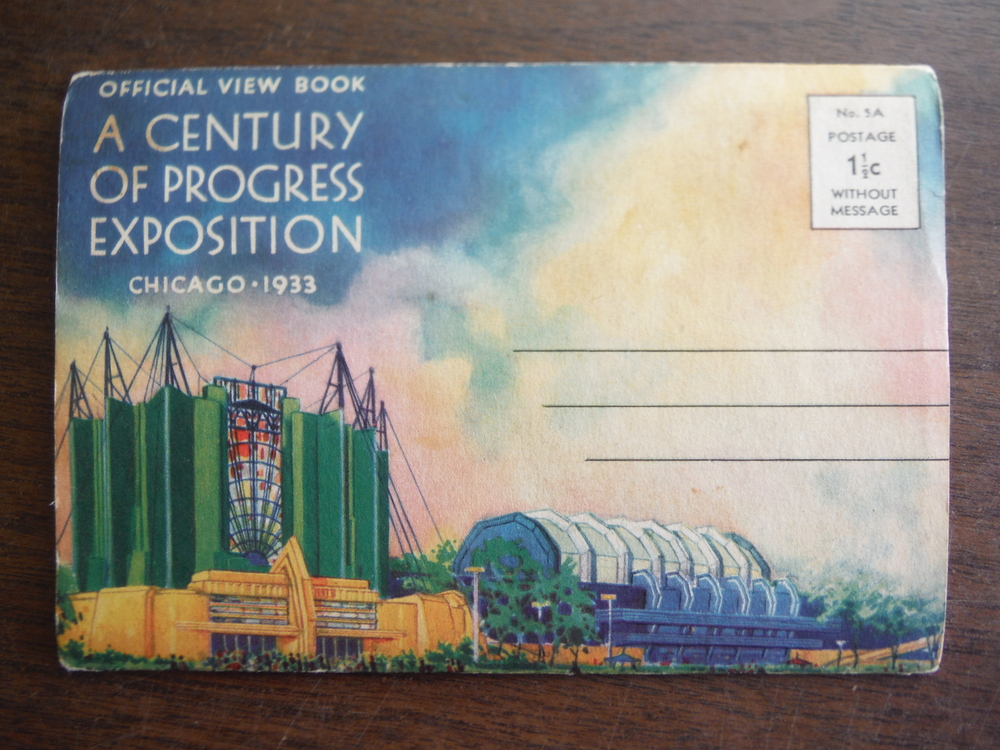 Official View Book A Century of Progress Exposition Chicago 1933