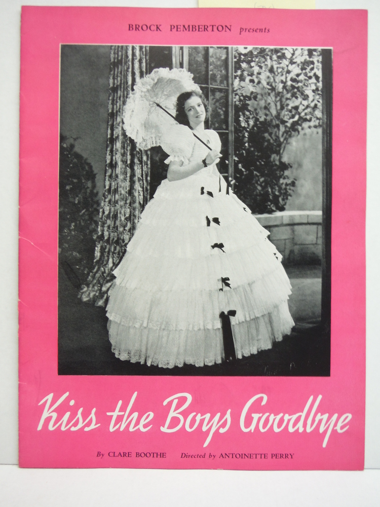 Kiss the Boys Goodbye (Souvenir Program 1940)